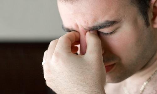 Боли в глазах при гайморите