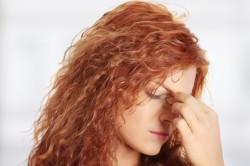 Дискомфорт в области глаз - причина хронического гайморита