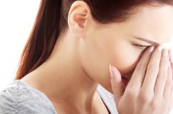 Заложенность носа - признак полисинусита