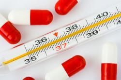Высокая температура - симптом гайморита