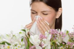 Аллергия - причина вазомоторного ринита
