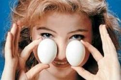 Прогревание носа яйцом при гайморите