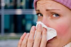 Насморк - симптом воспаления гайморовых полостей