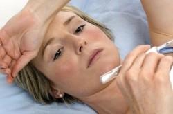 Незначительное повышение температуры тела как симптом катарального гайморита