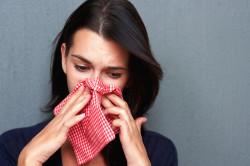 Заложенность носа - признак фронтита