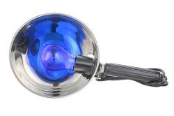 Опасность прогревания синей лампой