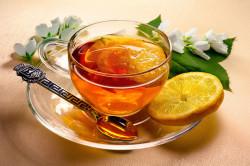 Горячий чай перед ингаляцией