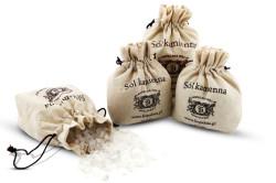 Мешочки с горячей солью для прогревания носа