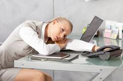 Постоянная усталость - симптом гайморита