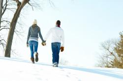 Зимние прогулки при гайморите