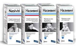 Использование Називина для лечения гайморита