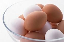 Вареные яйца для прогревания носа