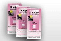 Изофра для лечения фронтита
