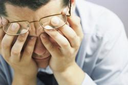 Ухудшение зрения, вызванное распространением воспаления от пазух на стенки глазниц