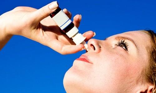 Применение каплей в нос при лечении синусита