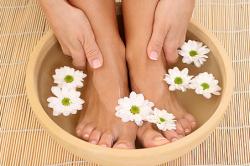 Ванночка для ног при катаральном рините