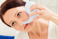 Промывание носа при синусите