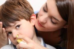 Промывание носа перекисью водорода
