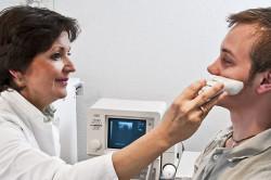 Ультразвуковое исследование пазух носа